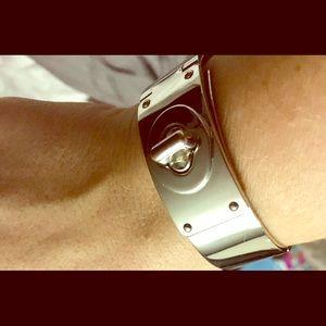Coach Bracelet- used - Heavy weight - turn lock